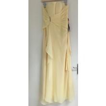 Elegant Strapless Chiffon Long Evening Bridesmaid Dress-ED9011S/2