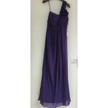 Lovely One Shoulder With Ruched Details Evening Bridesmaid Dress -ED8895S/5