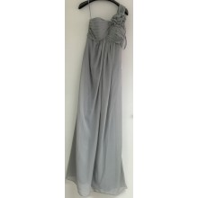 Lovely One Shoulder With Ruched Details Evening Bridesmaid Dress -ED8895S/2