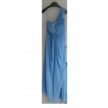 Lovely One Shoulder With Ruched Details Evening Bridesmaid Dress -ED8895S/6
