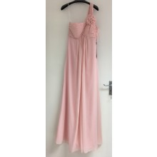 Lovely One Shoulder With Ruched Details Evening Bridesmaid Dress -ED8895S/8