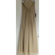 Glamorous Criss-Cross ruching Strapless Floor-Length Bridesmaids Dress-EDJ1315S/5