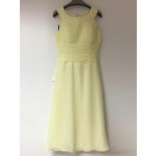 SEXYHER Fashion Scoop Neck  Waist Fold Prom Bridesmaid Dresses-COJ1518S/1