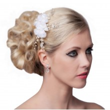 SEXYHER Fashion Pearl Flower Hair Accessories