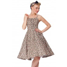 SEXYHER Ladies 1950's Vintage Style Halterneck Classic Dress